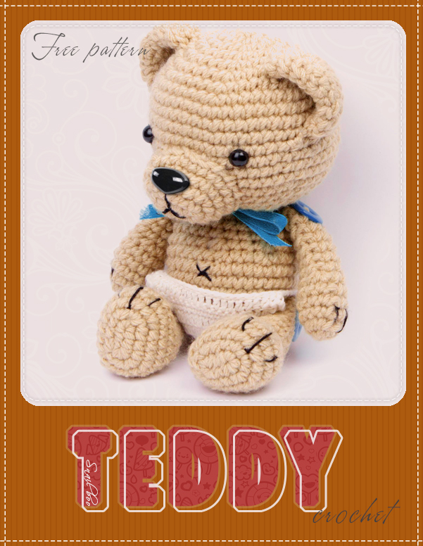 Free Crochet teddy Patterns by abaoabao