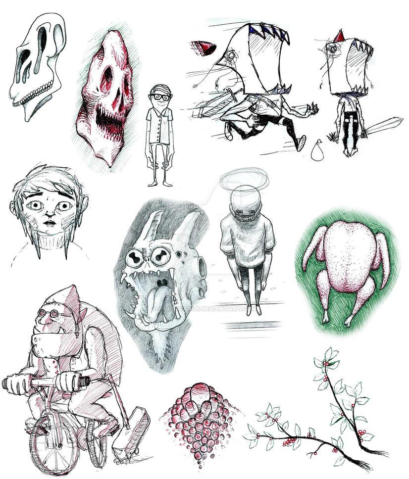 2014-2015  SketchBook by AviusIcarus