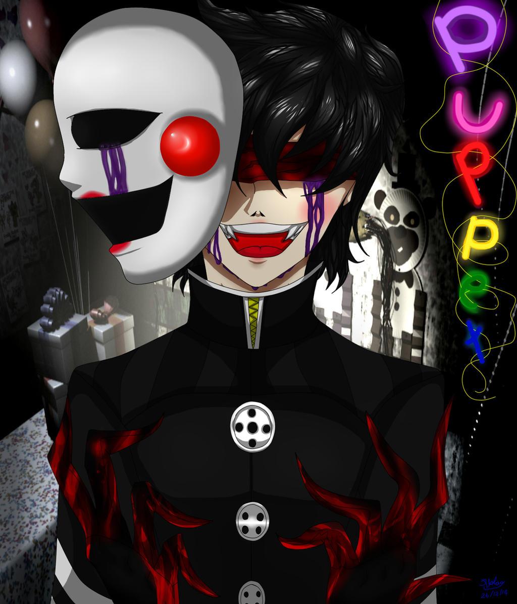 The puppet fnaf 2 by creepywolf2014 on deviantart