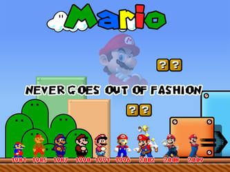 Mario Evolution by dominicanjoker