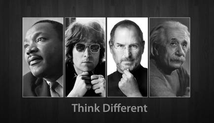Think Different by dominicanjoker