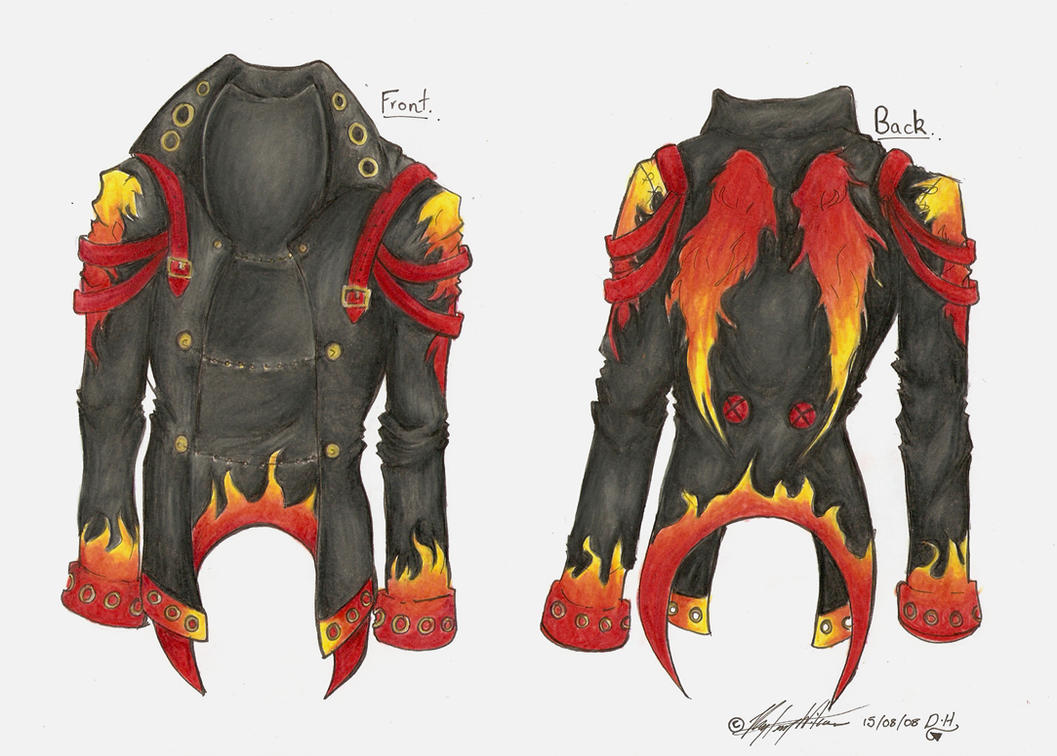 Contest Entry-Jacket by Demonic-Haze