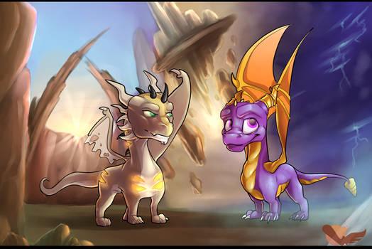 Urh and Spyro
