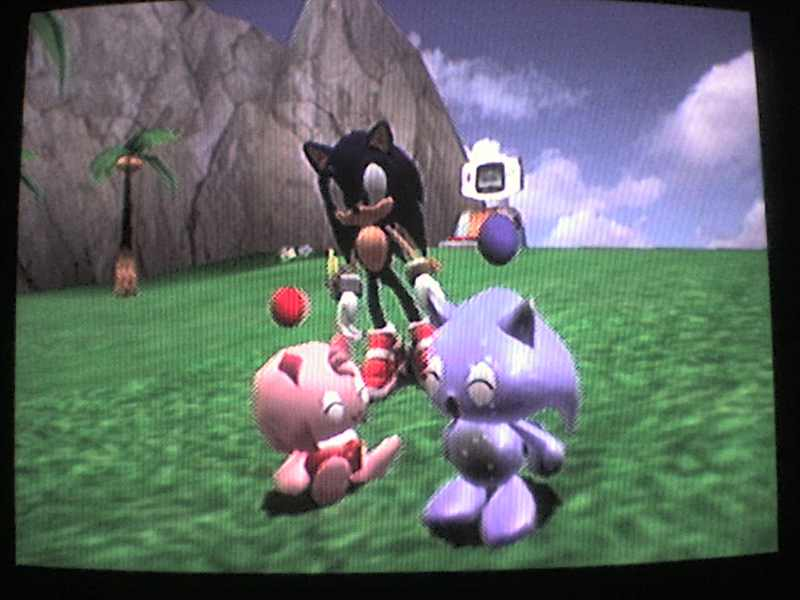Sonic Chao sings to Amy Chao by Reallyfaster on DeviantArt