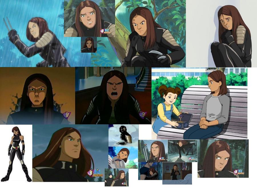 X 23 Gambit X-23 X-Men Evolution b...