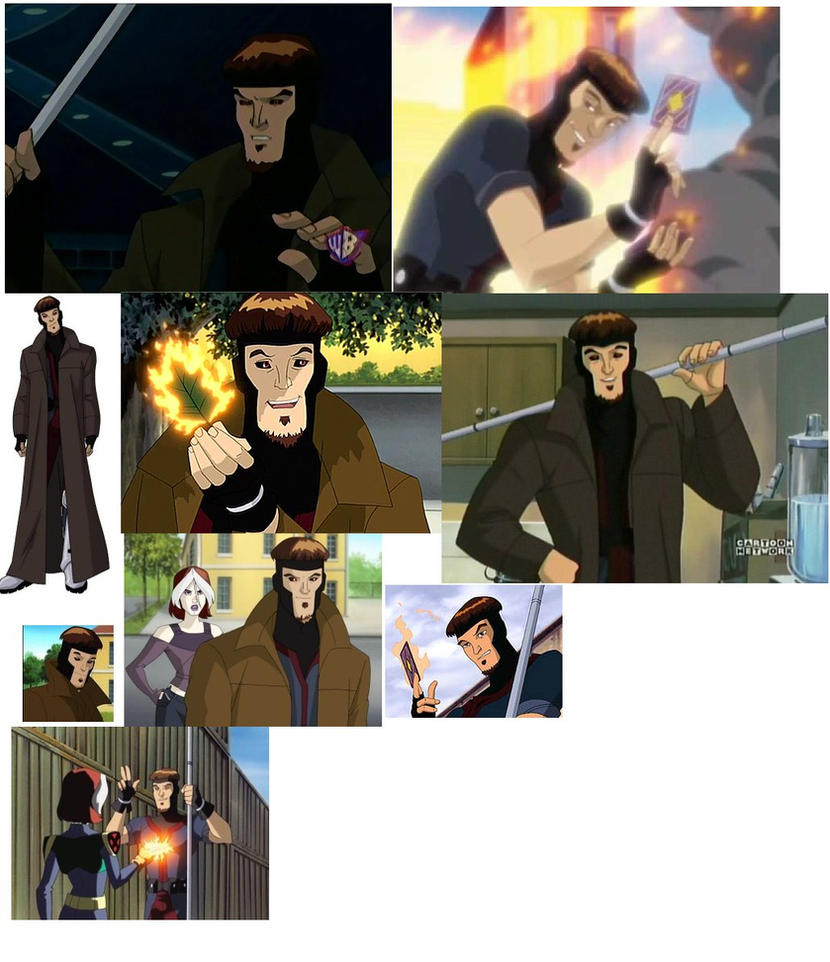 gambit x men evolution - photo #33