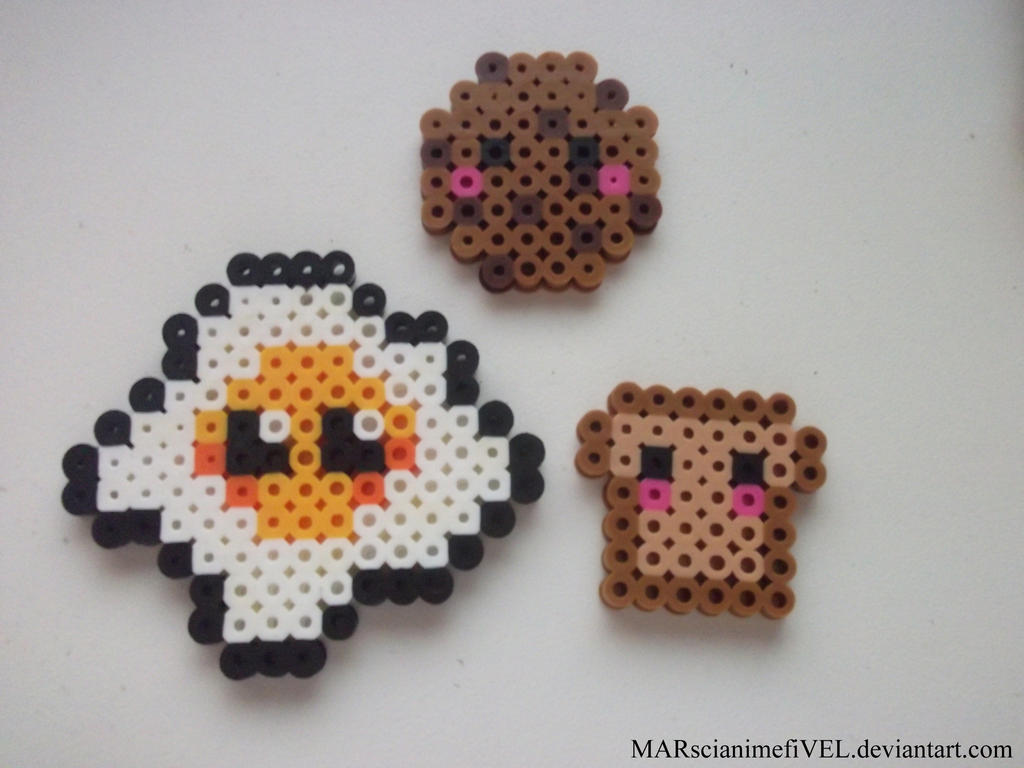 Cute Toast Egg And Cookie By Marscianimefivel On Deviantart
