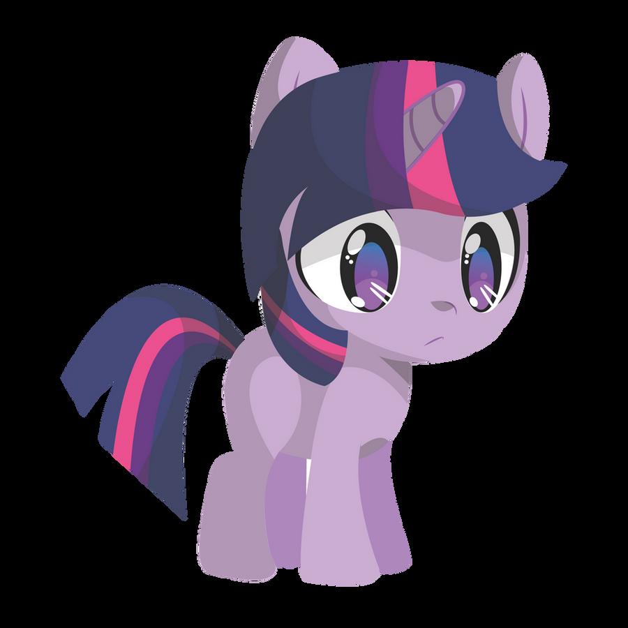 Filly Twilight Sprite by mini-deus