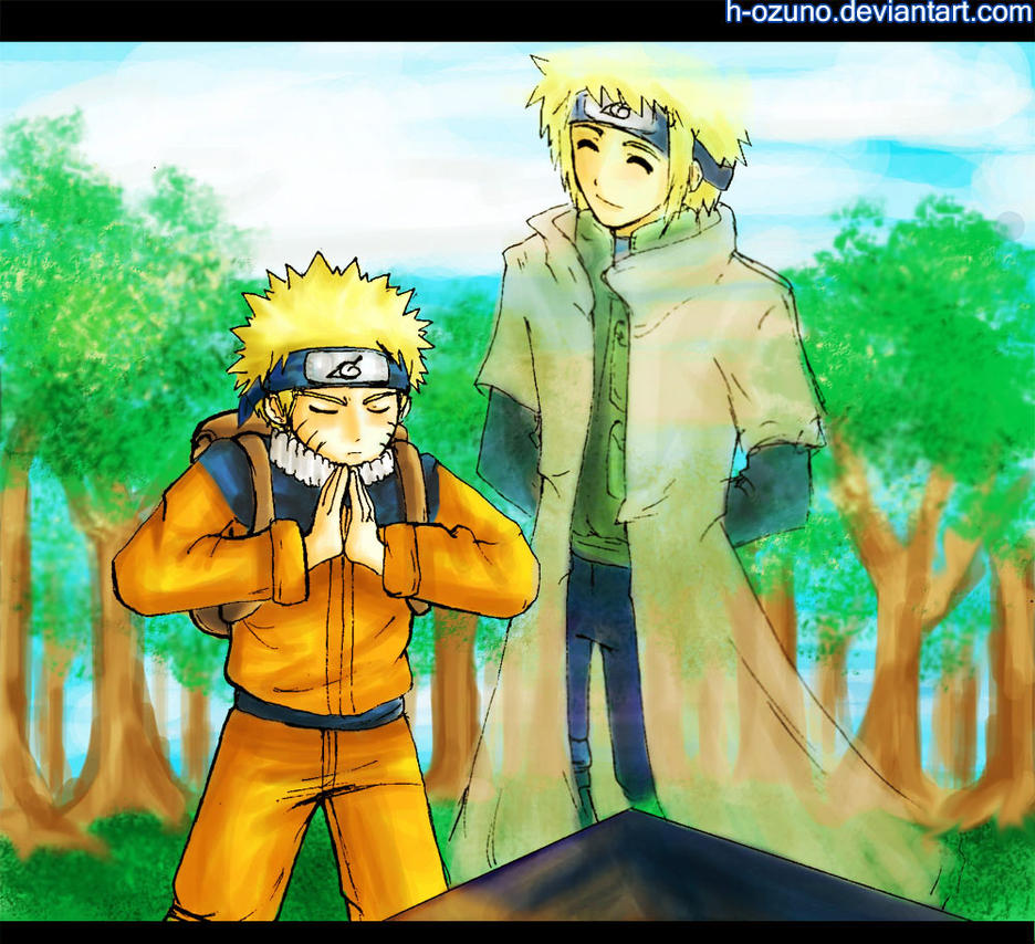 Guide me...Yondaime... by h-ozuno