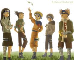 Team Shikamaru by h-ozuno