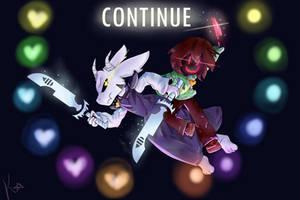 Undertale/Glitchtale FanArt by KnightDreamerr