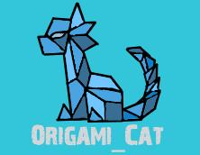 Origami Cat by an0nym0usW01f