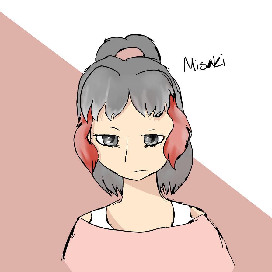 Misaki by an0nym0usW01f