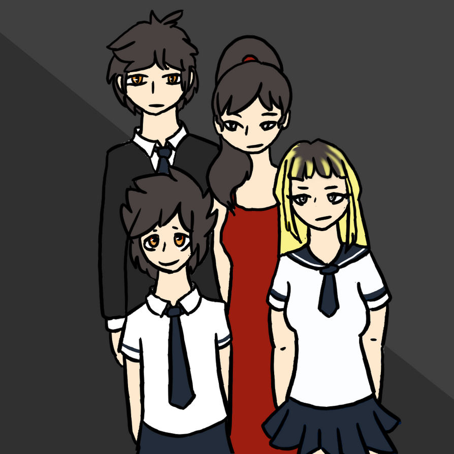 Ritsu's family by an0nym0usW01f
