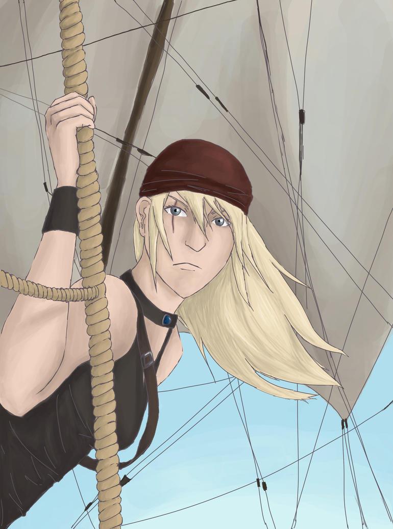 Captain Iris Wretter by TheCuttlefishCaptain