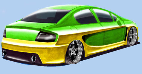 Peugeot 407 by vgdesign