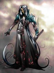 Sephiroth God of War 2 by vgdesign
