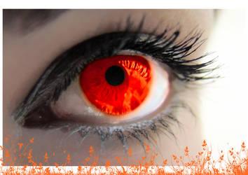 an_orange_eye by vgdesign