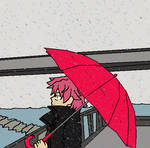 NATSU ON A RAINY DAY by Akira-Okuzaki
