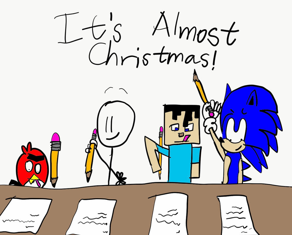 It\'s Almost Christmas by Jerryzou on DeviantArt