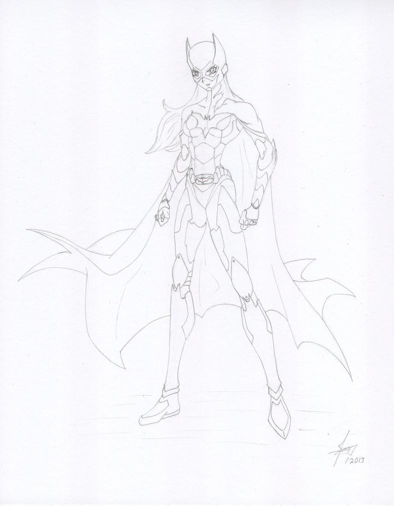 Batgirl 2.0 by Juankcr