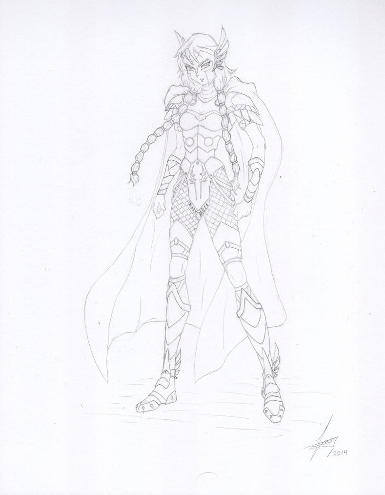 Valkyrie (Marvel) by Juankcr