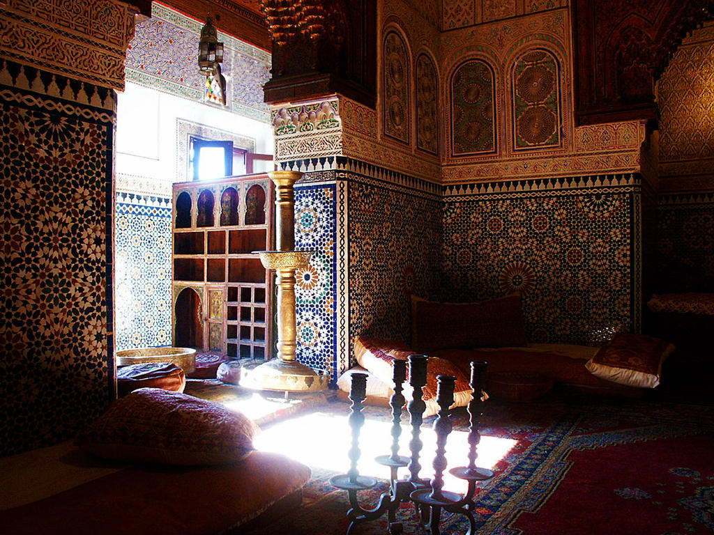 Moroccan interior by galilla on deviantart Moroccan interior design