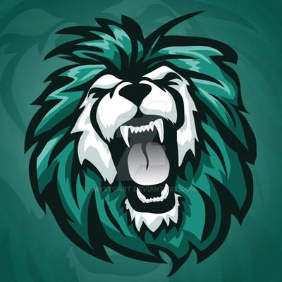 roaring lion vector mascot logo by mystcart on deviantart clan logo maker online clan logo maker android