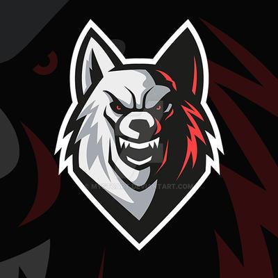 Wolf Vector Mascot Gaming Logo by mystcART