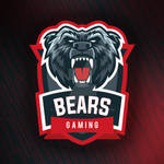 Grizzly Bear Vector Gaming Logo