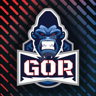 Gorilla Vector Gaming Logo by mystcART
