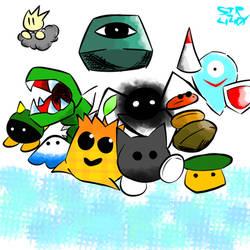 K64 Enemies! by Sir440