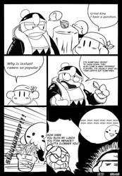 Stupid Kirb manga I spent a whole day on plzkillme by Sir440