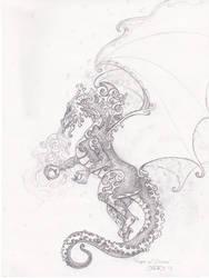 Keeper Of Dreams Sketch by ladyfireoak