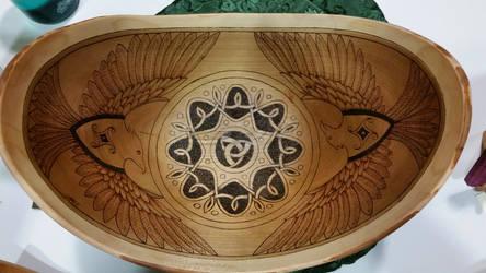 Odin's Bowl by ladyfireoak