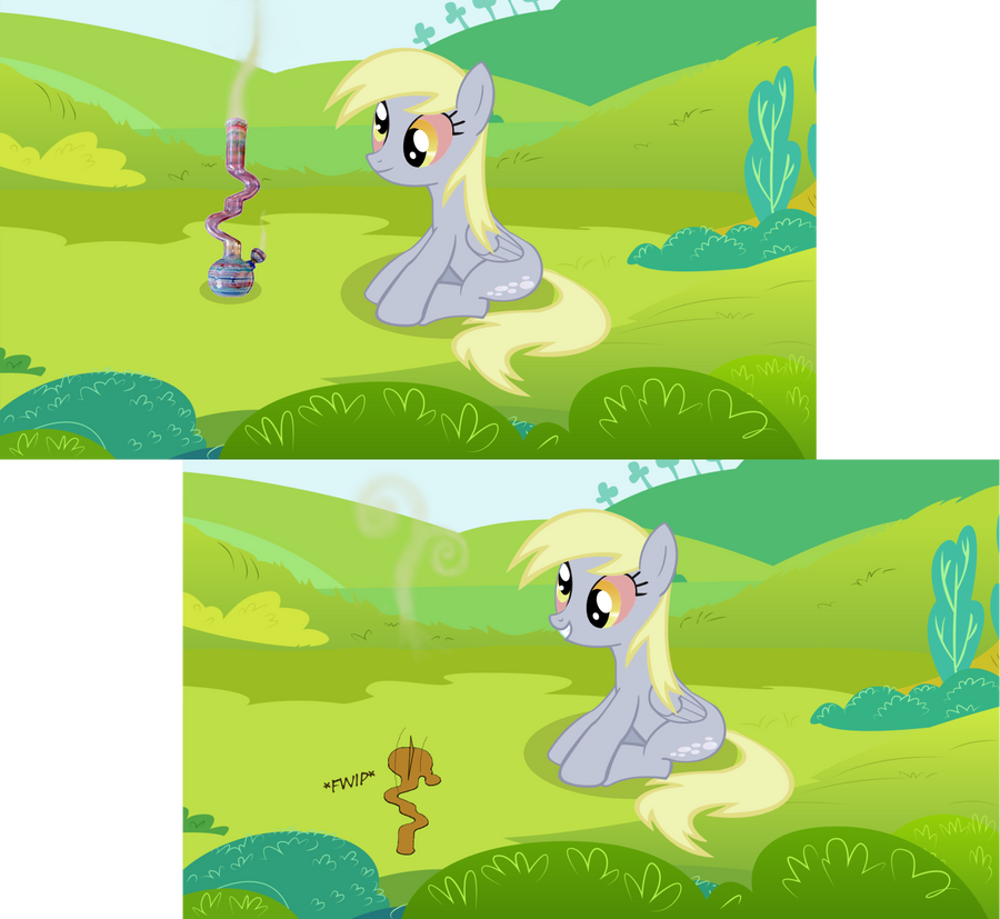 A Regular Day With Derpy by iliekpones
