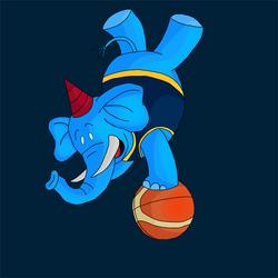 Basketball Mascot by Revan1118