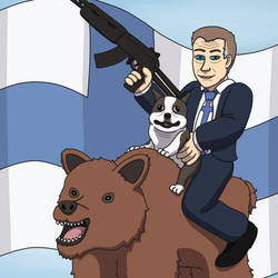 Finland 100th Independence Day by crazycat690
