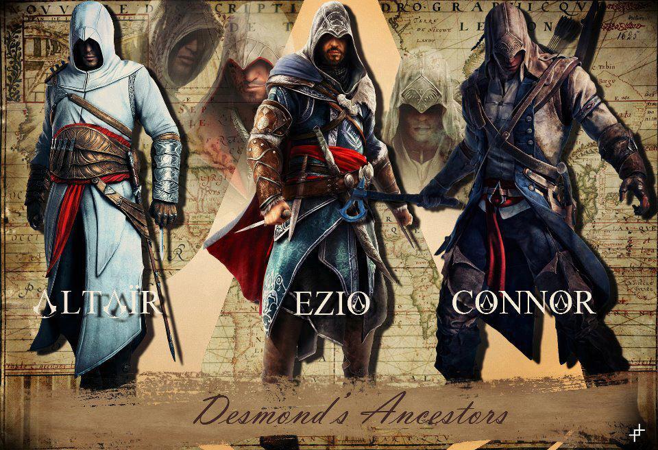 altair ezio connor by MolicConnor And Ezio