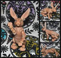 Rabbit BJD (Ready to Cast) by ApostacyArt