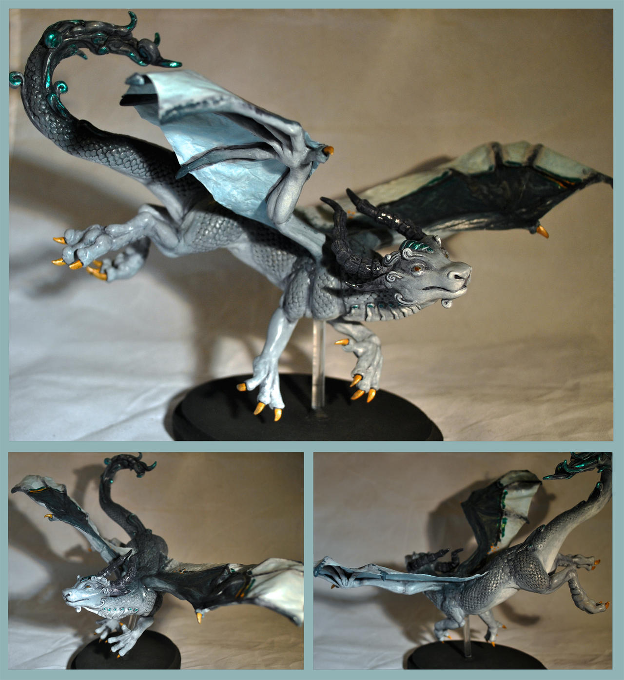 Thunderhead Dragon by ApostacyArt