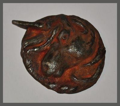 Rusted Iron Unicoin by gummiberri