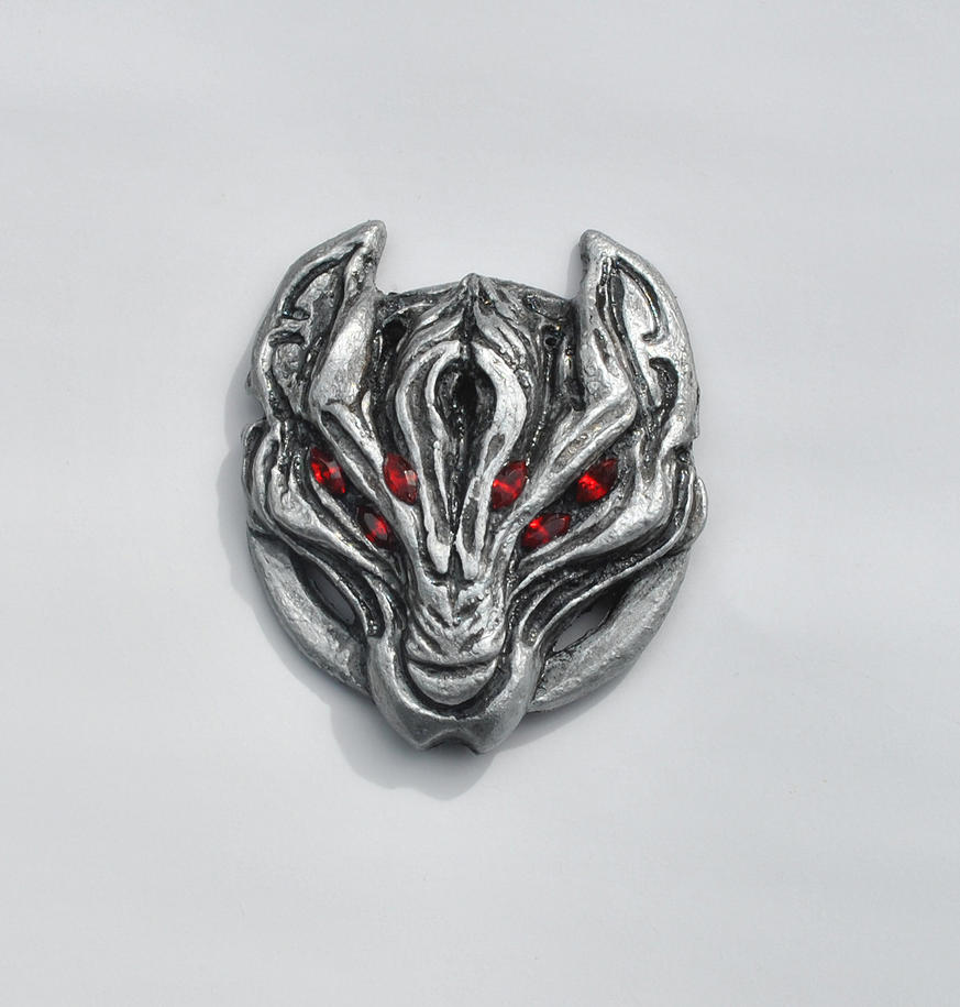 Dread Wolf Fridge Magnet by gummiberri