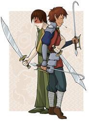 Jet and Zuko: Dual Swords