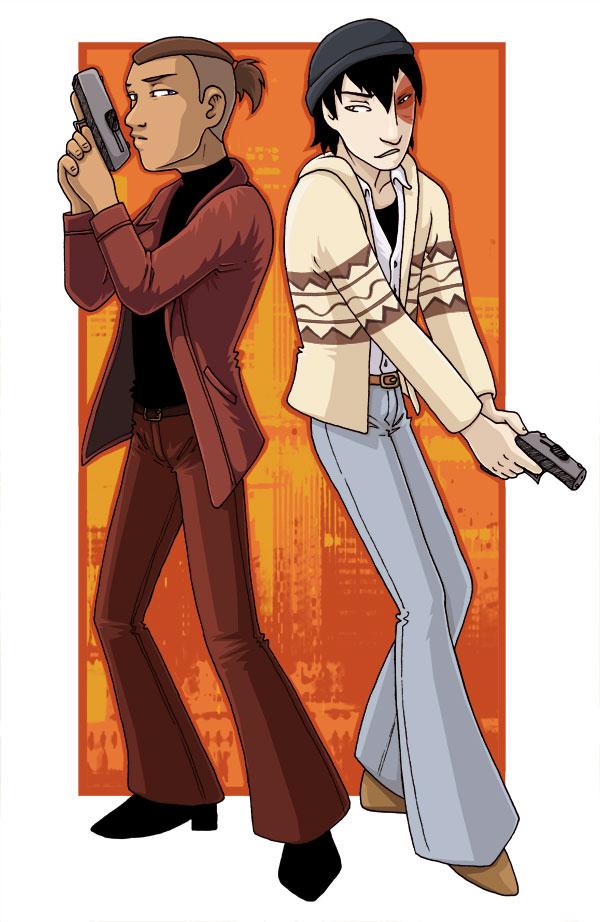 Zuko and Sokka FIGHT CRIME by AliWildgoose