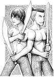 Zuko+Sokka - Swordbenders