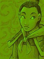 Mulan is my kinda lady by AliWildgoose