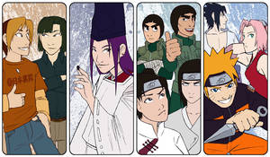 Naruto + Hikago - Bookmarks