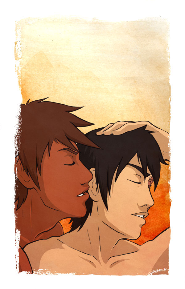Jet+Zuko - Whispered Promise by AliWildgoose
