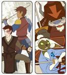 ATLA Bookmarks - Swords